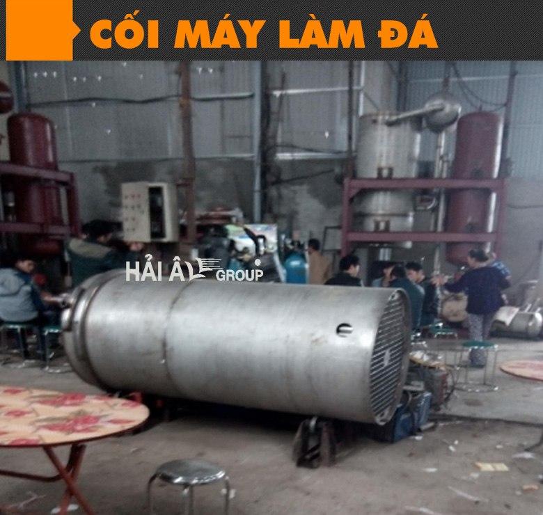 cối máy đá viên công nghiệp