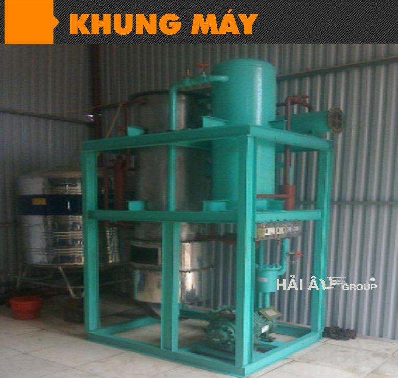 khung máy làm đá công nghiệp