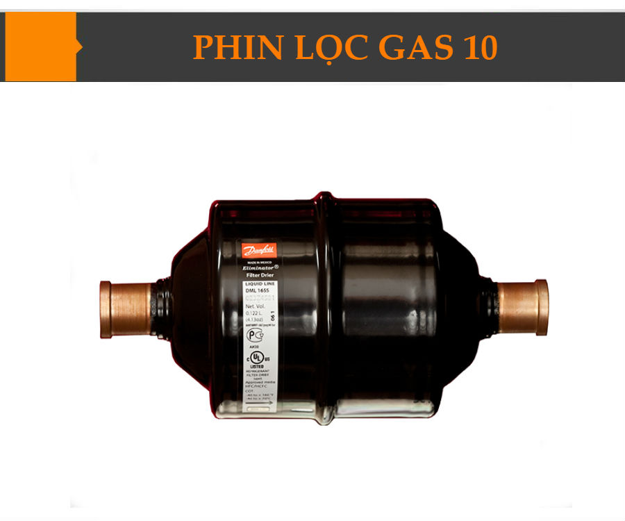 Phin lọc gas 10