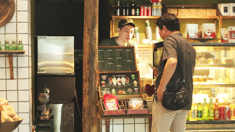 Máy làm đá viên tinh khiết Hải Âu là sự lựa chọn của nhiều chuỗi cà phê lớn.