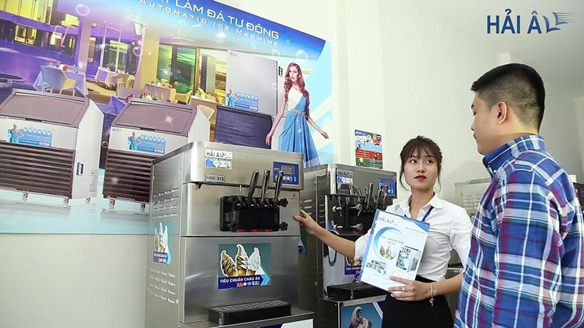 Máy làm kem tươi Hải Âu sẽ là sự đầu tư sáng suốt để kinh doanh