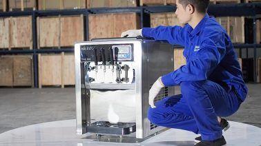 chế độ bảo hành cho máy làm kem