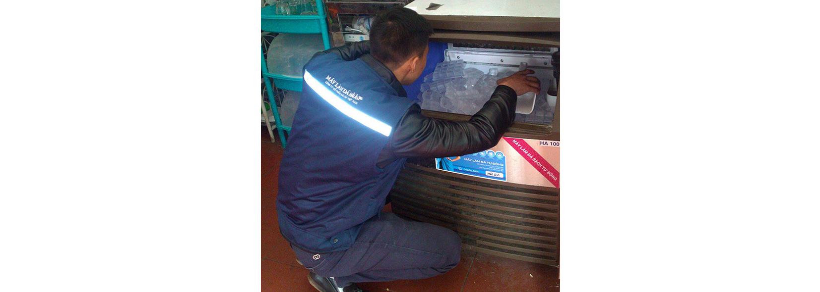 Dịch vụ sửa chữa máy làm đá Hải Âu Group