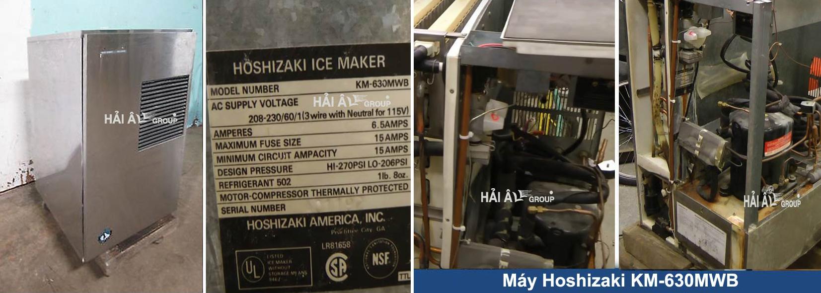 Sửa chữa máy làm đá Hoshizzaki KM 630MWB