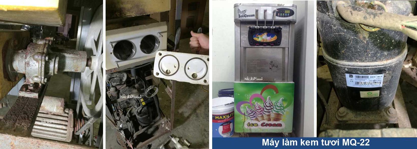 Sửa chữa máy làm kem MQ 22