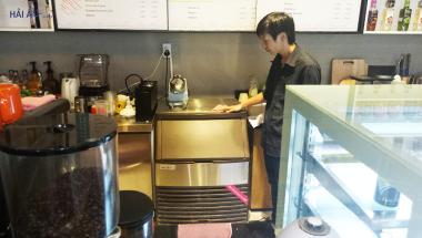 lựa chọn máy làm đá cafe