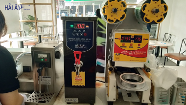 trọn bộ máy pha chế trà sữa