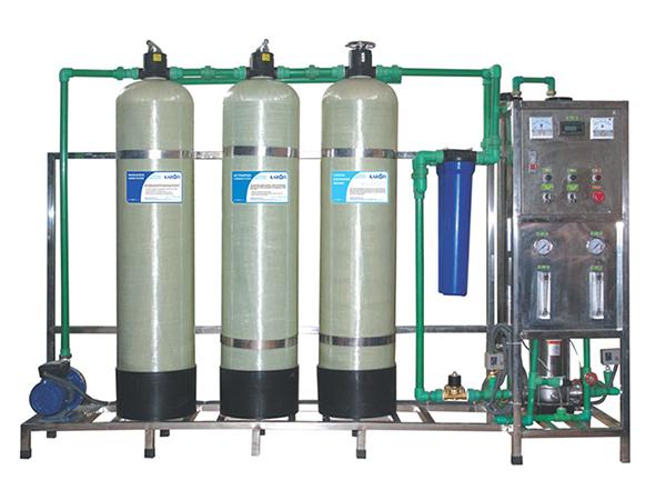 Dây chuyền máy lọc nước tinh khiết 150L/H