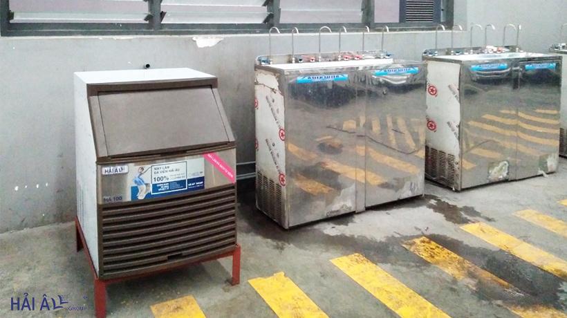 mua máy làm đá giá rẻ ở Hồ Chí Minh Ha 100