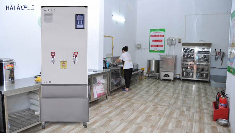ấn tượng về máy đun nước nóng haiau