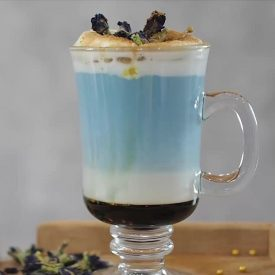latte hoa đậu biếc hải âu group