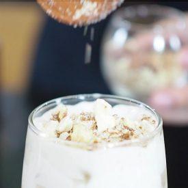 trà sữa hạnh nhân hải âu group