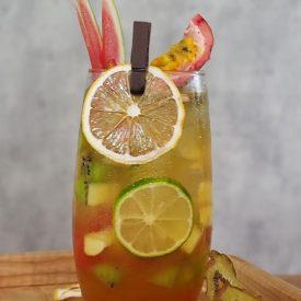 trà nhiệt đới hoa quả