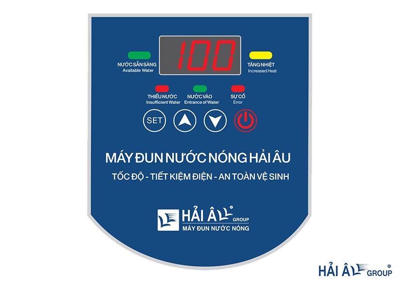bảng điều khiển máy đun nước nóng