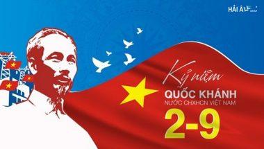 Chào Mừng 76 Năm Quốc Khánh Nước CHXHCN Việt Nam